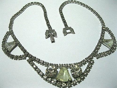 Art Deco Cocktail Necklace