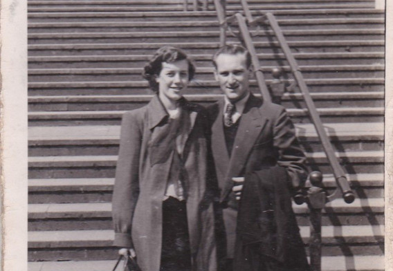 Young Couple 1950s