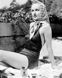 1930s scarf in sun