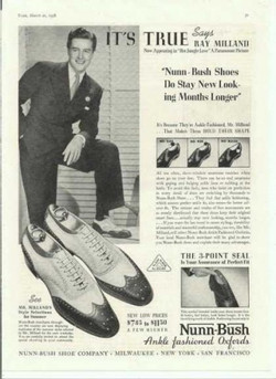 wing tip twotone shoes