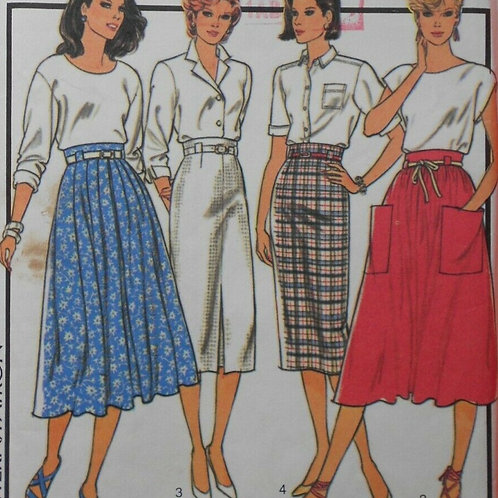 Fab 50s Style Vintage Skirt Patterns