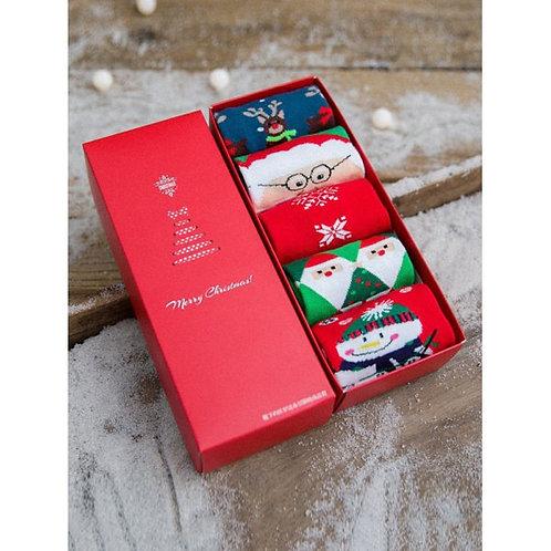 Box of Christmas Socks