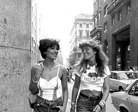 Late 1970s summer casual wear, Jeans & T shirt