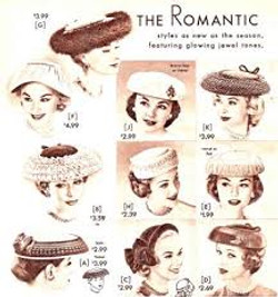 more hats 1950s