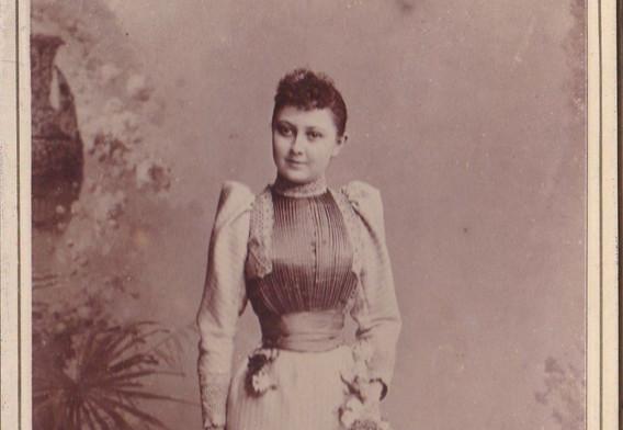 1880-90s French Dress