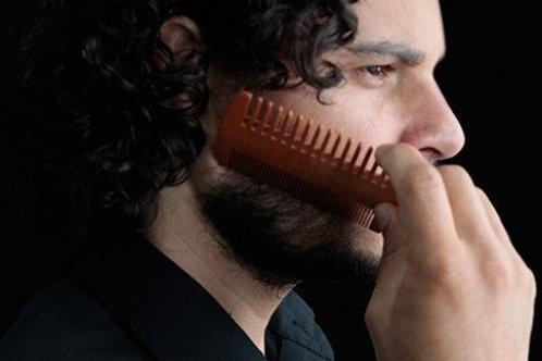 Wooden Beard/Moustache Comb
