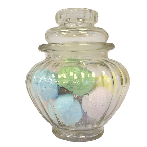 Small Glass Storage Jar- 3 shapes