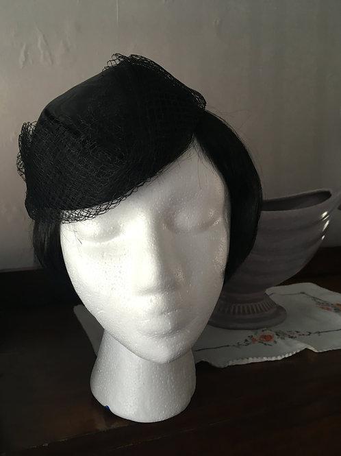 Black Juliet Cap Hat