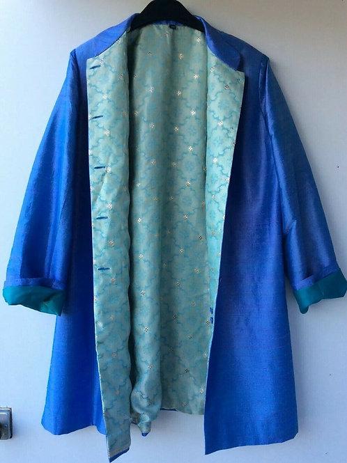 Silk Oriental Style  Coat