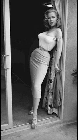 Women Worn Bullet Bra in the 1940s and 1