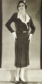 1931-Crossover-black-day-dress-with-box-