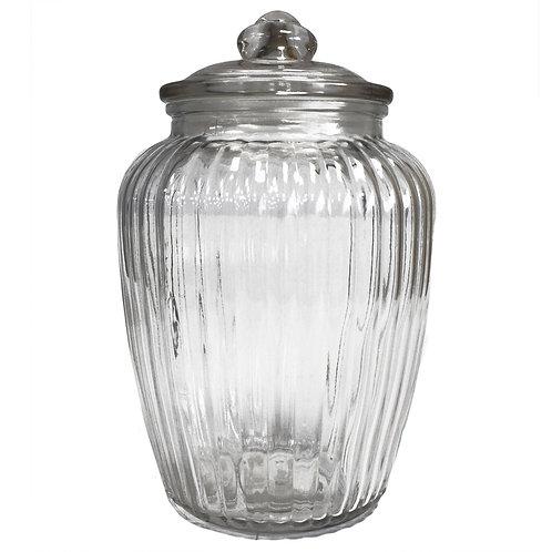 Large Glass Storage Jar- 2 designs