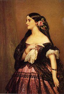 Opera singer Adelina Patti