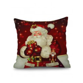 Christmas Linen Cushion Covers