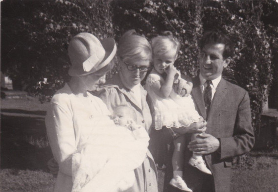 1960s Christening