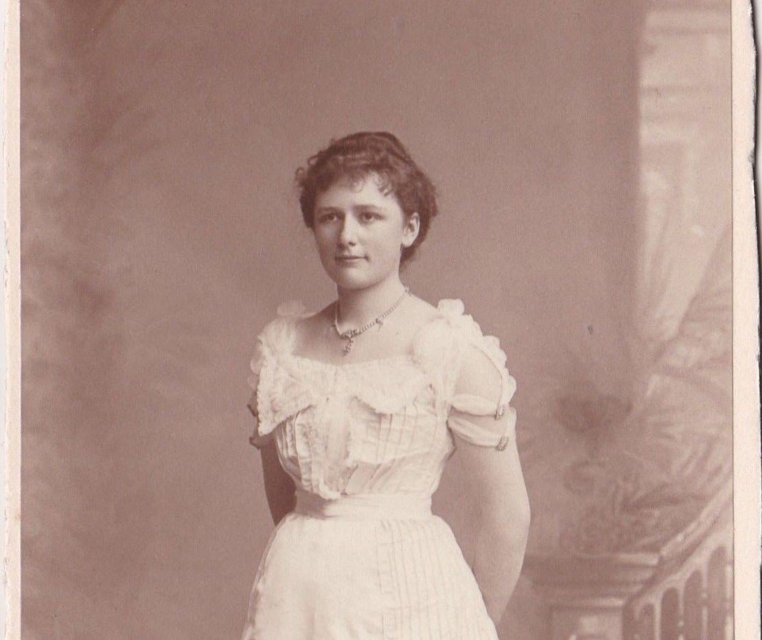 1880-90s Evening Dress