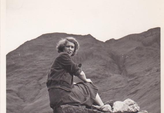 Lady on a Rock 1950s