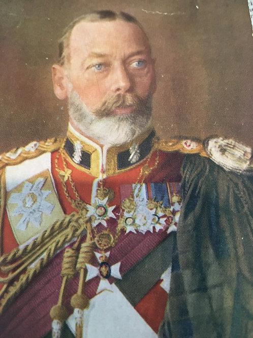 W.D. & H.O. WILLS CIGARETTE CARD ALBUM- King George V
