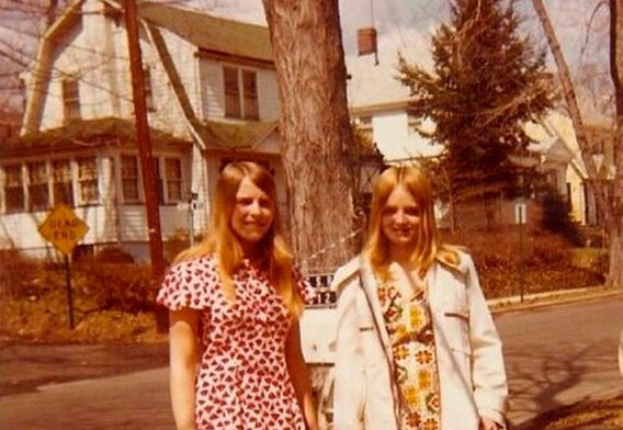 Two young women early 1970s