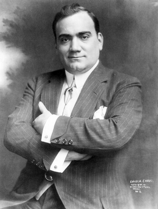 Enrico Caruso Opera Star