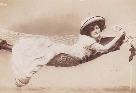Actress Ethel Ovilver 1900s