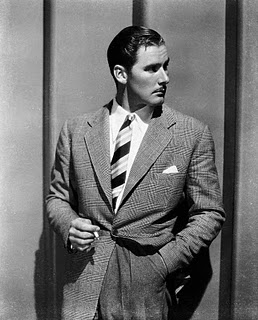 Errol Flynn in a Tweedy number