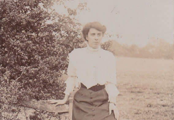 1880-90s Day Skirt and Blouse