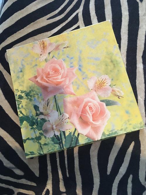 Unused Linen Handkerchief Set in original box