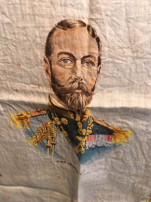 Antique Souvenir of The Great War 1914- King George V