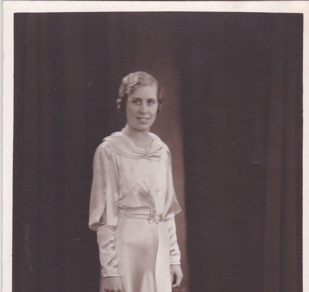 Evening Dress 1930s