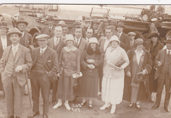 Group of people 1920s