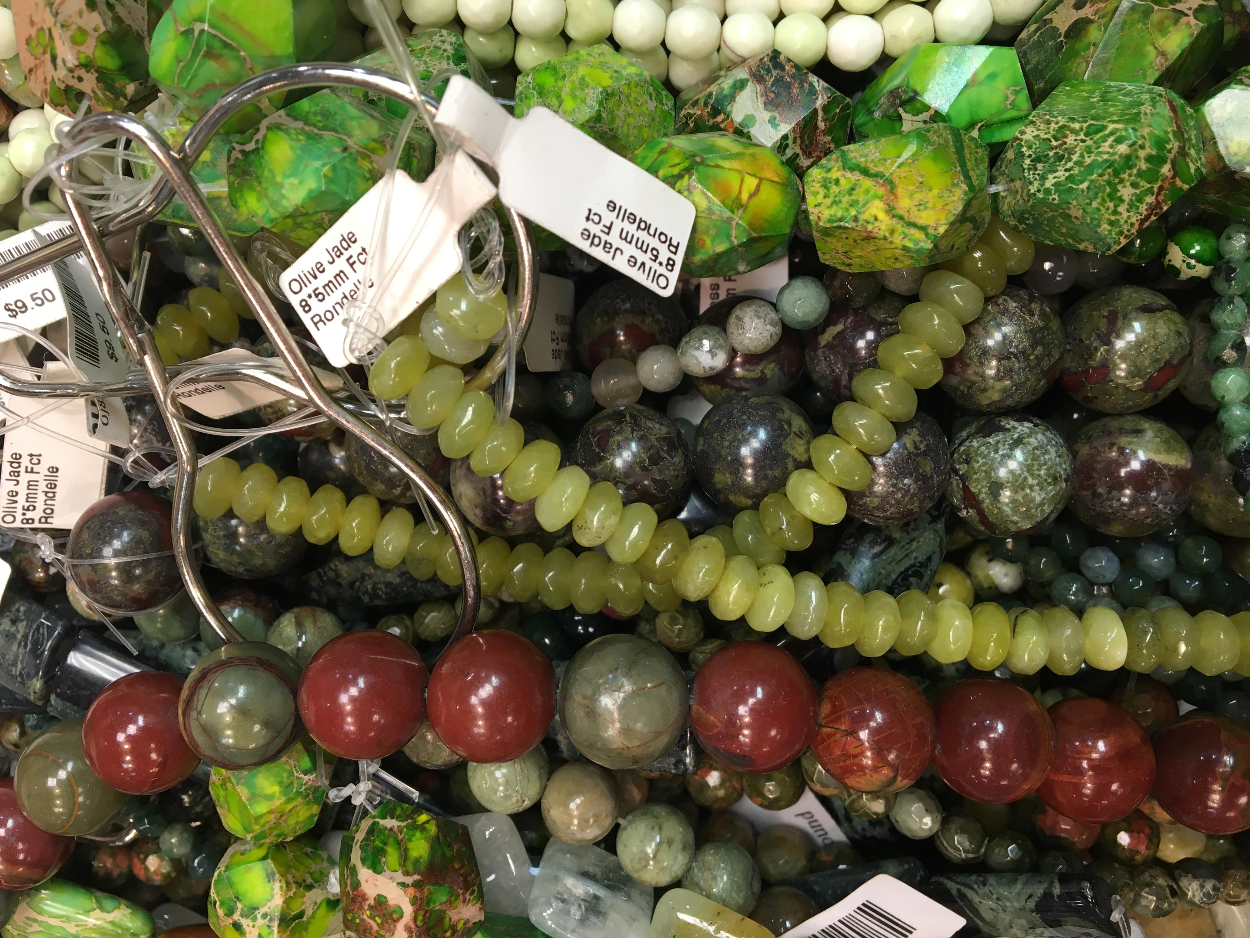 Gemstone strands
