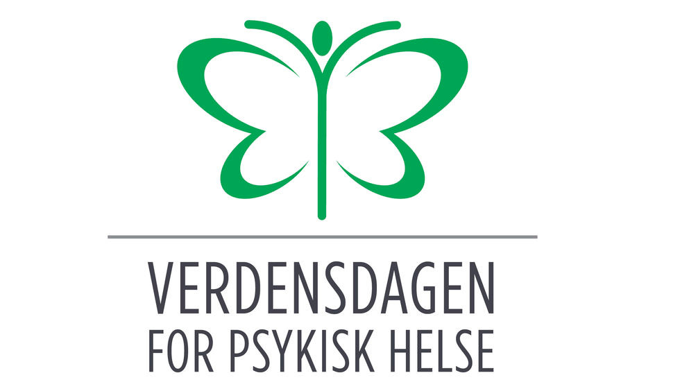 Logo Verdensdagen for psykisk helse