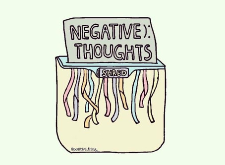 Fighting Fear & Negative Thoughts