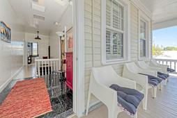 Upstairs - Porch & Hallway