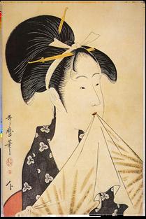 [OUTAMARO]. Utamaro. Estampes