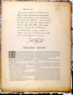 [DAVID]. BERTALL. Félicien David. Photoglyptie.
