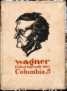 [WAGNER]. BÉRAUD (Henri). Wagner sous le diaphragme.