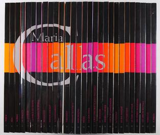 [CALLAS]. Maria Callas.