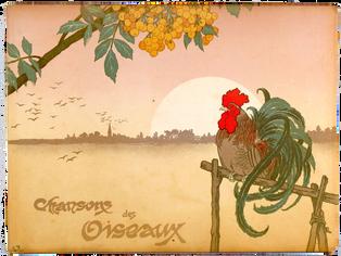 FRAGEROLLE (Georges), FRAIPONT (Gustave) et CLOSSET (J.). Chansons des oiseaux.