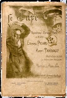 [REDON]. PICARD (Edmond) et THIÉBAUT (Henri). Le Juré.