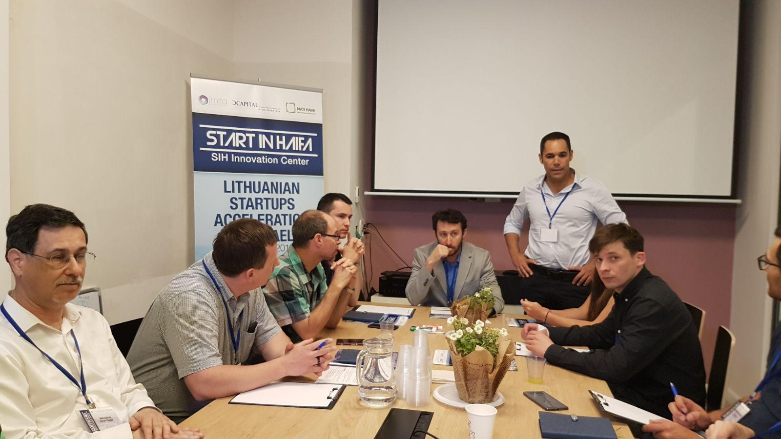 "Teddy Nehmad (תדי נחמד) lecture on ""The Startup Nation"""