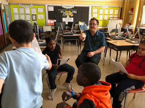 Teaching kids in the Bronx, NY