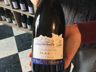 Aoc Vin de Savoie Marin, clos du Pont, domaine Delalex