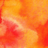 orange-watercolor-paint-background-vecto