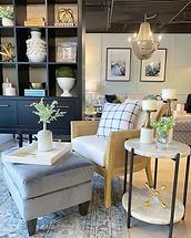 Home Decor Living room Furniture Chair Ottoman Bookshelf End Tables Accessories