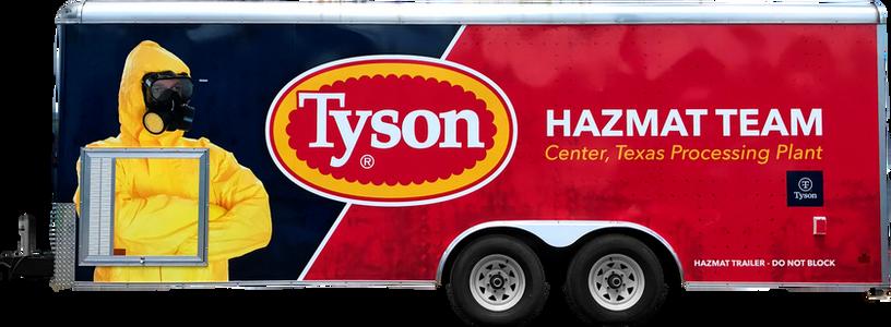 Tyson Hazmat Team