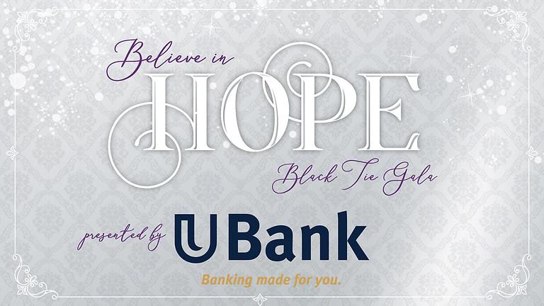 Believe in Hope Black Tie Gala