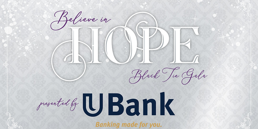 Believe in Hope Black Tie Gala