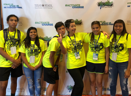 "Alabama-Coushatta Youth Attend ""Say What!"" Conference"
